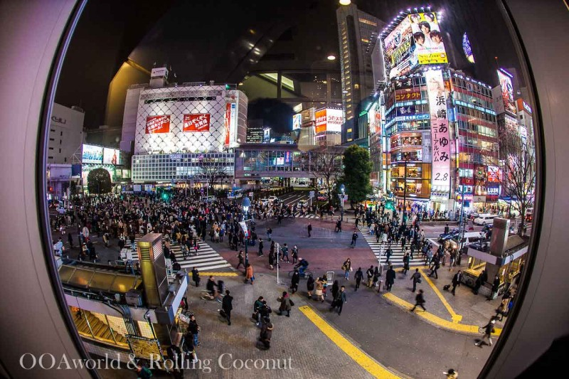 Shibuya Crossing World's Busiest Intersection Tokyo Japan Photo Ooaworld