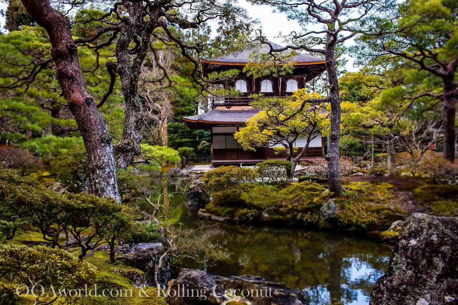 Silver Pavilion Ginkaku Ji Kyoto Japan Photo Ooaworld