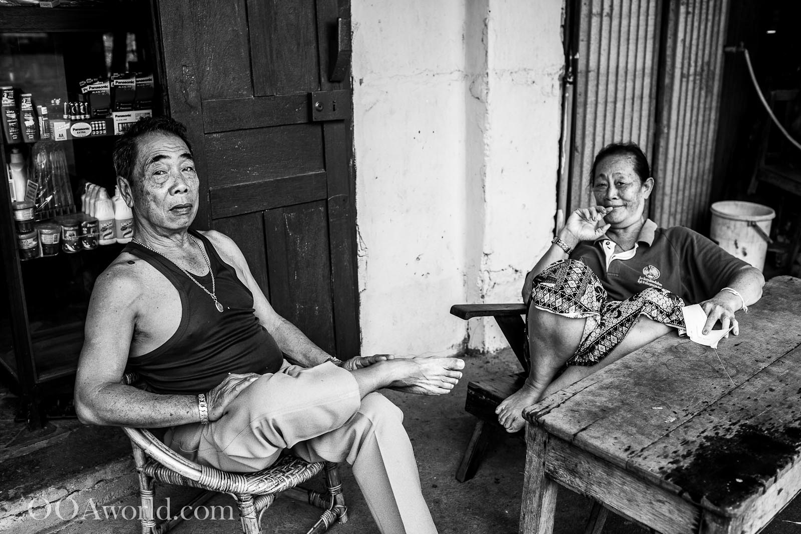 Street Photography Luang Prabang Photo Ooaworld