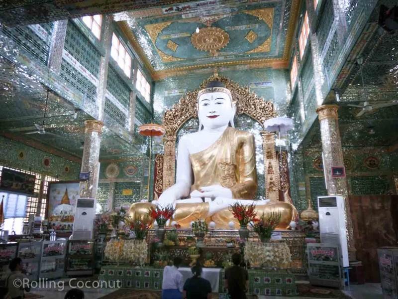 Buddha Sagaing Hill Myanmar Photo Ooaworld