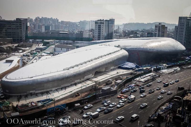 Dongdaemun Design Plaza Seoul Photo Ooaworld