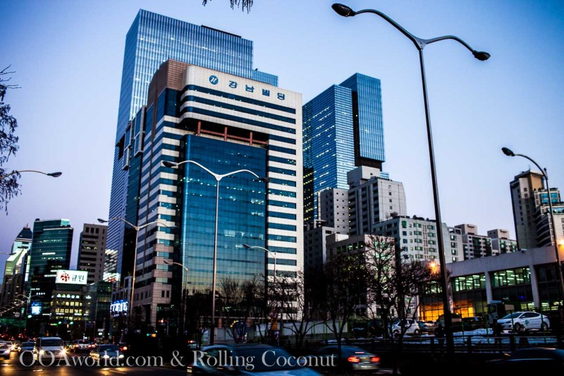 Gangnam Seoul South Korea Photo Ooaworld