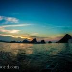 Ha Long Bay Sunset Green Photo Ooaworld
