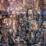Man Made Texture Photography Laos Elephants Photo Ooaworld