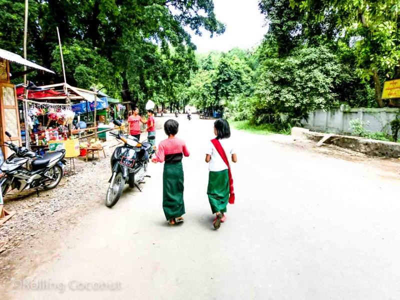 Children Mandalay Myanmar Photo Ooaworld