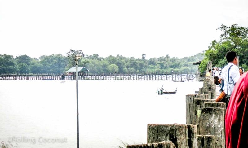 U-Bein Bridge Mandalay Myanmar Photo Ooaworld