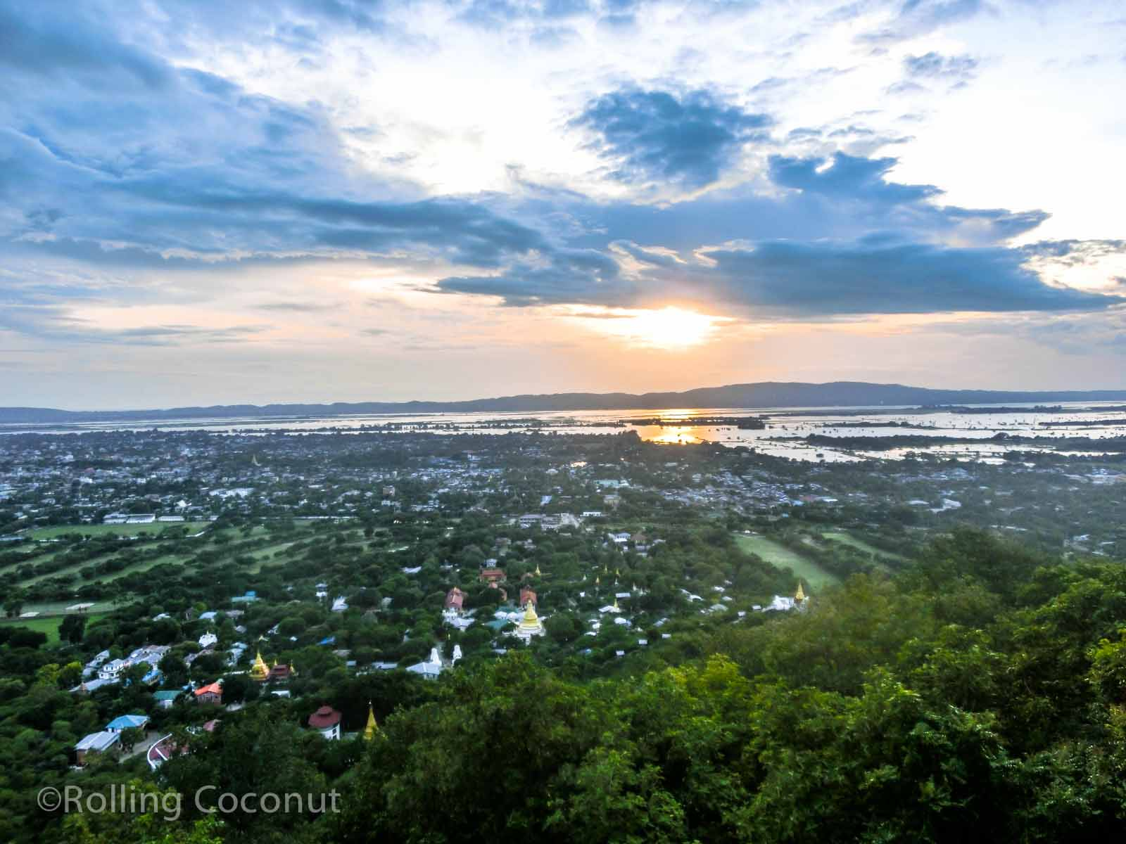 View Mandalay Hill Myanmar Photo Ooaworld
