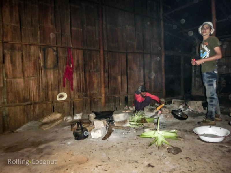 Kalaw Inle Lake Trek Myanmar Dinner in the Dark in Monastery Photo Ooaworld
