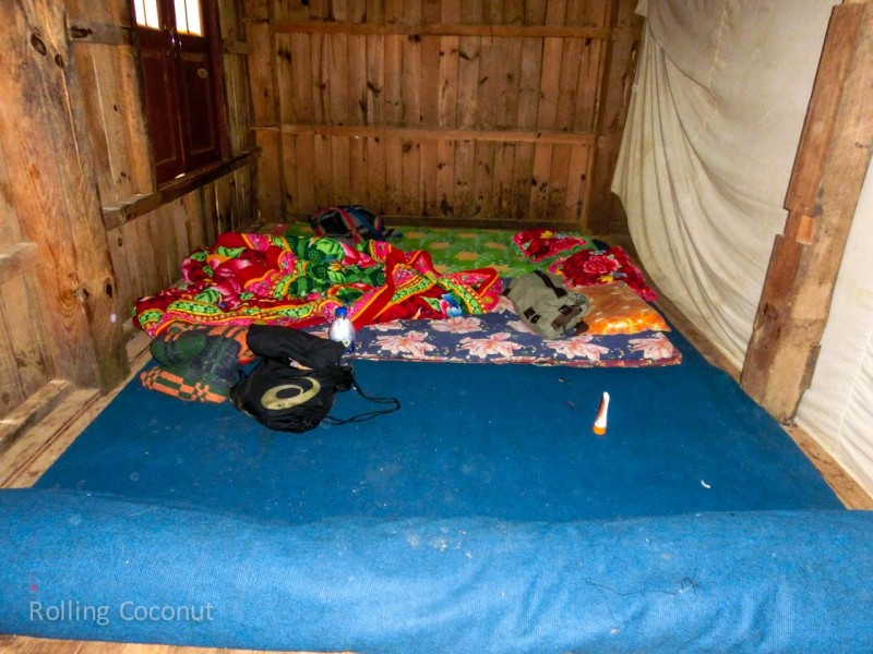 Kalaw Inle Lake Trek Myanmar Monastery Sleeping Area Photo Ooaworld