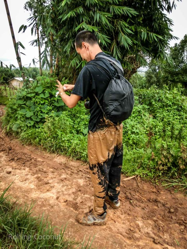 Kalaw Inle Lake Trek Myanmar Mud Slide Photo Ooaworld