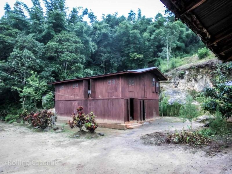 Kalaw Inle Lake Trek Myanmar Sleeping Area Photo Ooaworld