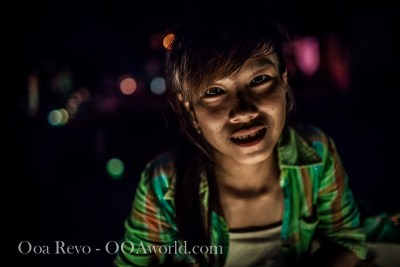Hoi an Lantern Festival Portrait Young Woman Photo Ooaworld