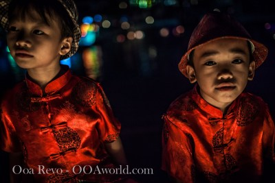 Hoi an Lantern Festival Portrait Boys Photo Ooaworld