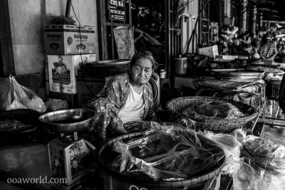 Hoi An Portrait Sad Merchant Photo Ooaworld