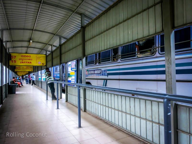 Bus Station To Jaffna Sri Lanka ooaworld Rolling Coconut Photo Ooaworld