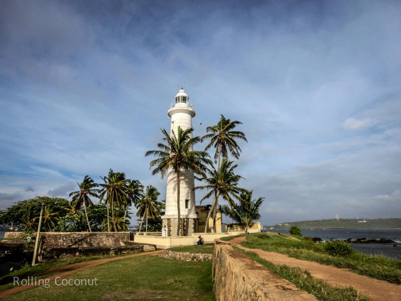 Galle Lighthouse Sri Lanka ooaworld Rolling Coconut Photo Ooaworld