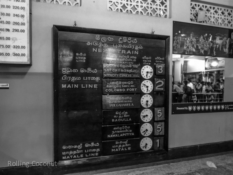 Kandy Train Station Schedule ooaworld Rolling Coconut Photo Ooaworld
