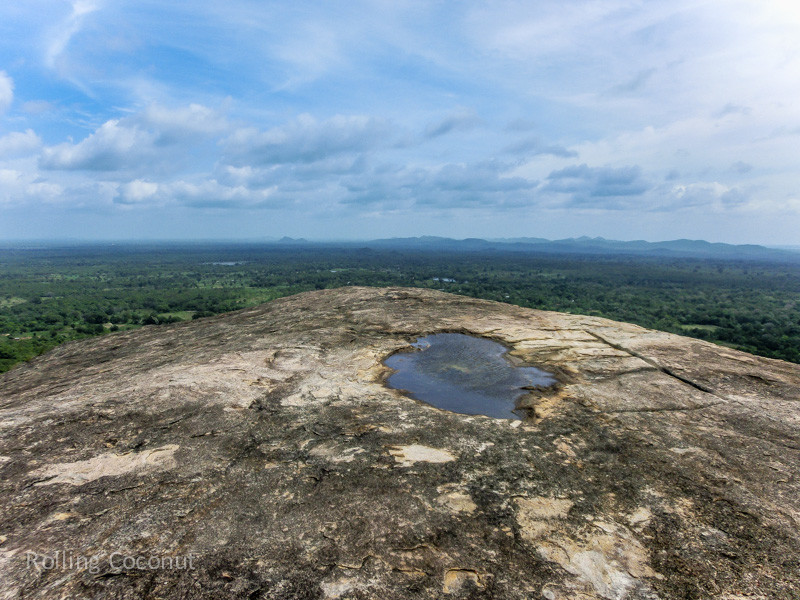 View from Pidurangala Sigiriya Sri Lanka ooaworld Rolling Coconut Photo Ooaworld