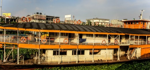 Bangladesh Dhaka Buriganga River Rocket Steamer ooaworld Rolling Coconut Photo Ooaworld