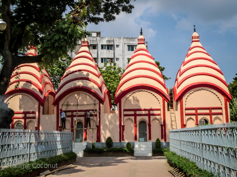 Bangladesh Dhaka Dhakeshwari Temple ooaworld Rolling Coconut Photo Ooaworld