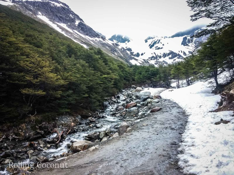 Ushuaia Argentina Hike Glacier Martial ooaworld Rolling Coconut Photo Ooaworld