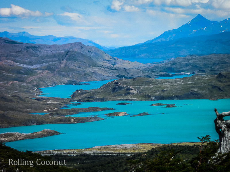 Torres del Paine Chile Lake Rolling Coconut OOAworld Photo Ooaworld