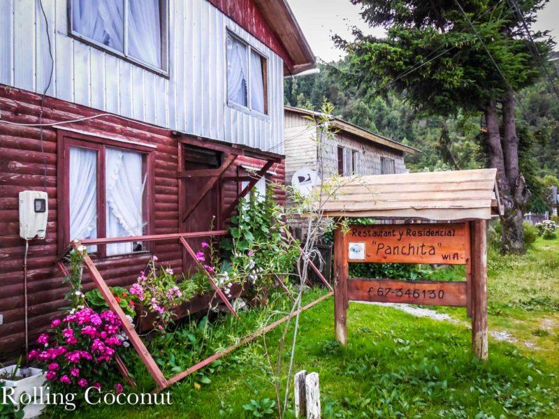 Chile Puerto Cisnes Hostel Panchita Rolling Coconut OOAworld Photo Ooaworld