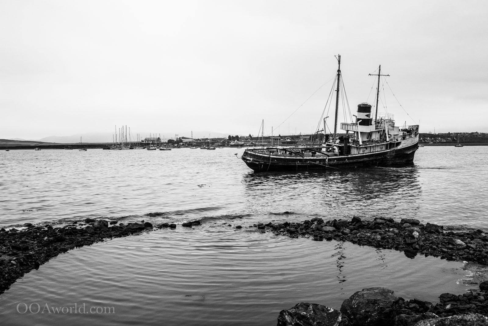 Ushuaia Sunken Ship Photo Ooaworld