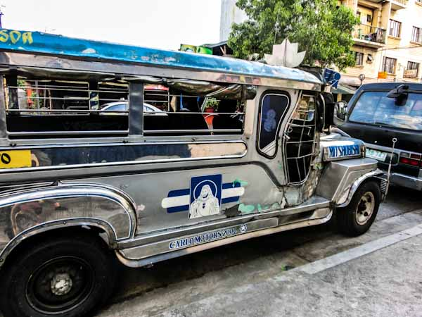 silver jeepney manila philippines photo ooaworld Rolling Coconut