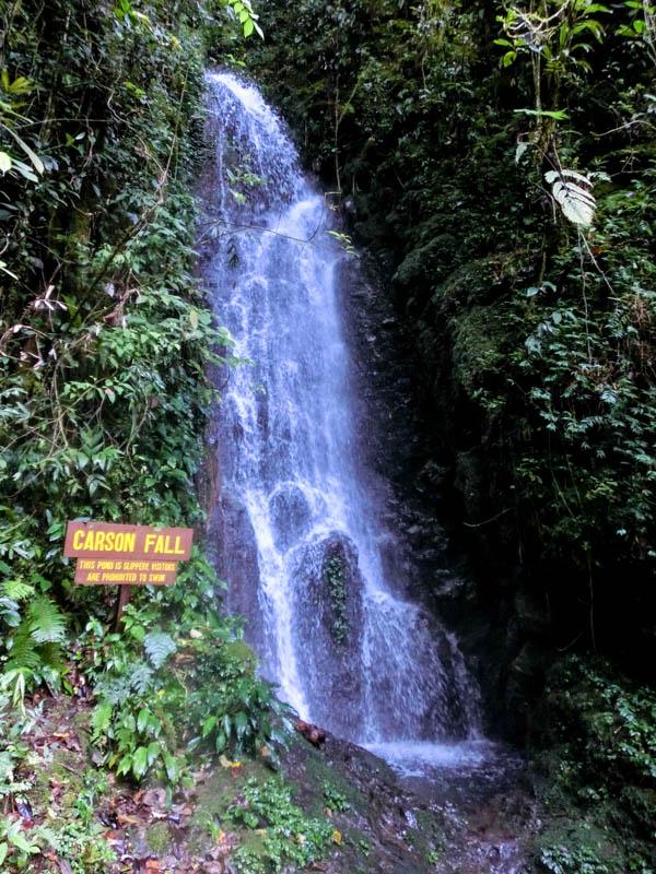 Carson Falls Mount Kinabalu Borneo photo ooaworld Rolling Coconut