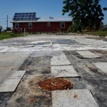 Photos New Orleans after Hurricane Katrina Empty lots