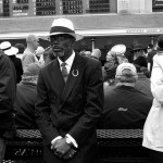 Photo of fancy crowd at the Kentucky Derby