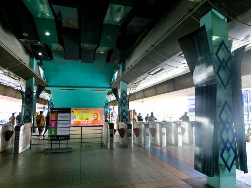 LRT Kuala Lumpur Malaysia photo ooaworld Rolling Coconut