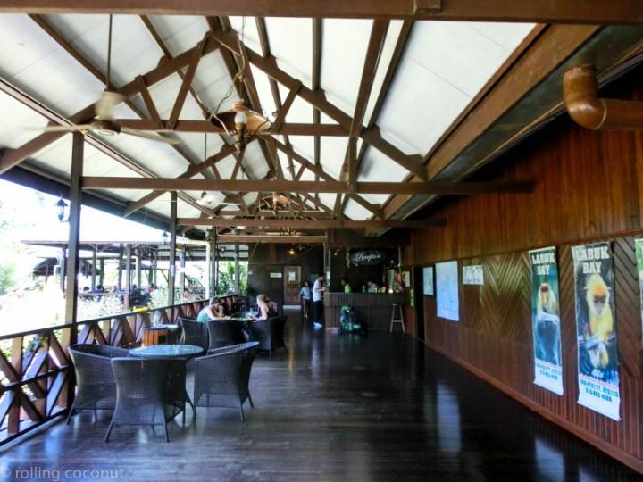 Lobby Nipah Lodge Borneo photo ooaworld Rolling Coconut