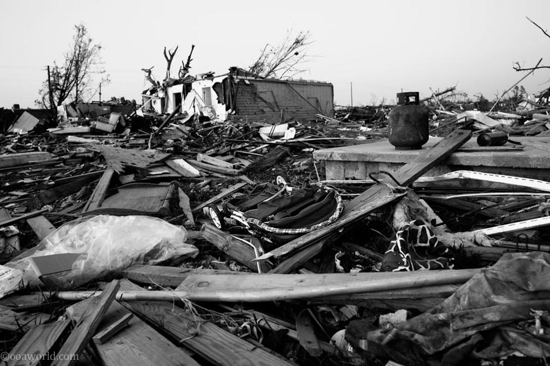 Tuscaloosa tornado damage, Alabama