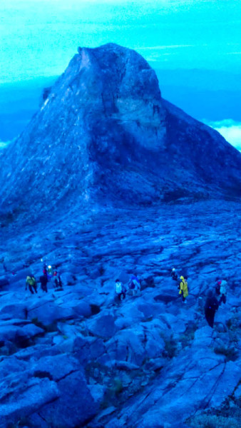 Walking Peak Mount Kinabalu Borneo photo ooaworld Rolling Coconut