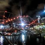 singapore double helix bridge photo ooaworld Rolling Coconut
