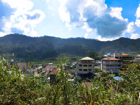 Sagada hotel view photo ooaworld Rolling Coconut