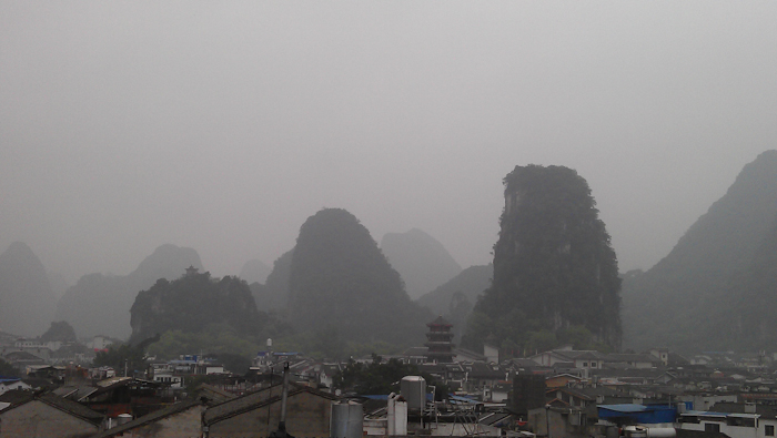 yangshuo hotel view morning photo ooaworld Rolling Coconut