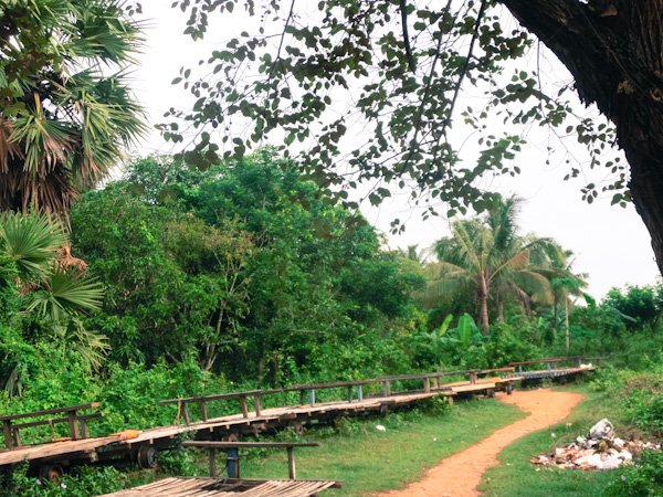 bamboo train battambang photo ooaworld Rolling Coconut