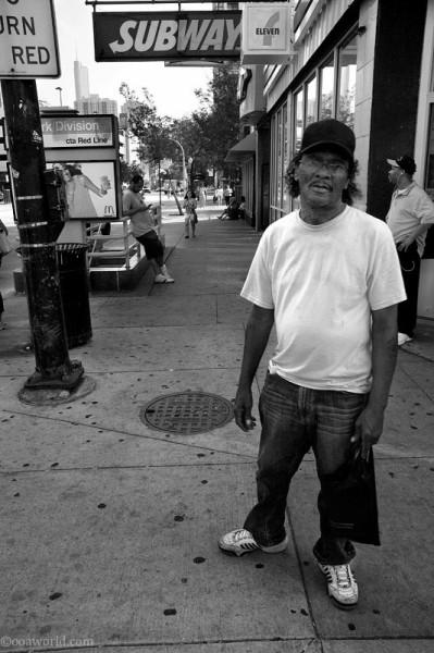 Chicago Street Portrait