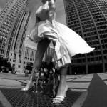Chicago Marilyn Monroe sculpture