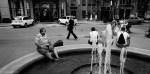 chicago Street Photography fountain unjoy