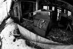 Abandoned cash register machine photo ooaworld