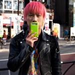 harajuku fashion pink cell phone photo ooaworld