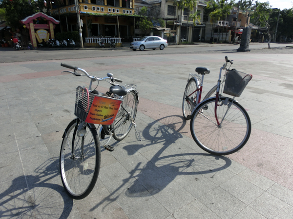 bicycles hoi an vietnam photo ooaworld Rolling Coconut