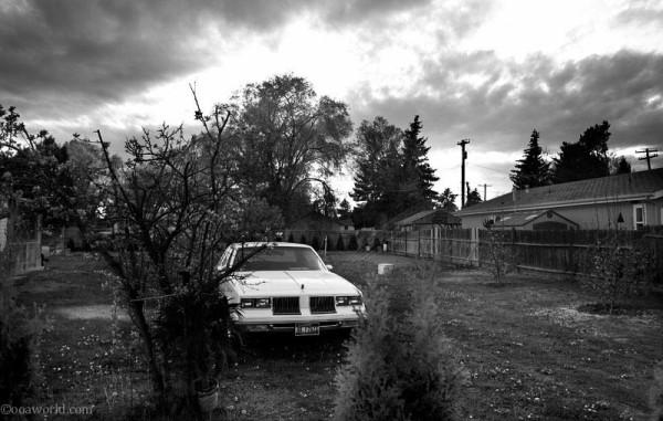 idaho cadillac yard USA road trip photo ooaworld