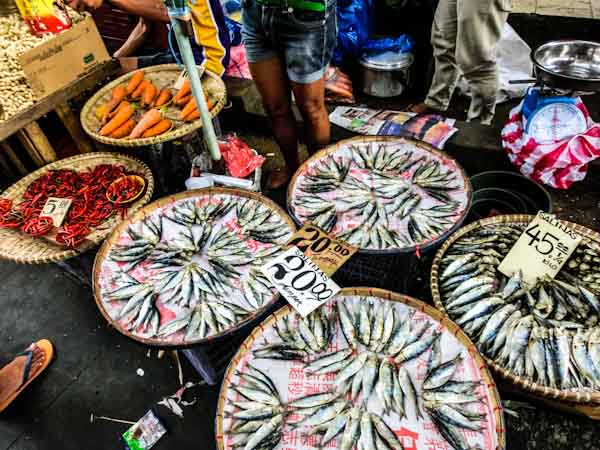 quiapo market manila philippines photo ooaworld Rolling Coconut