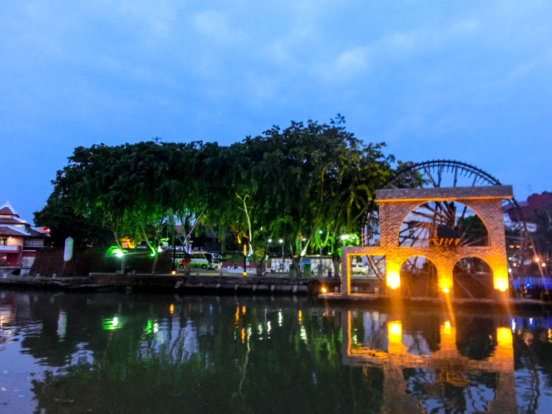 Waterfront Melaka Malaysia photo ooaworld Rolling Coconut