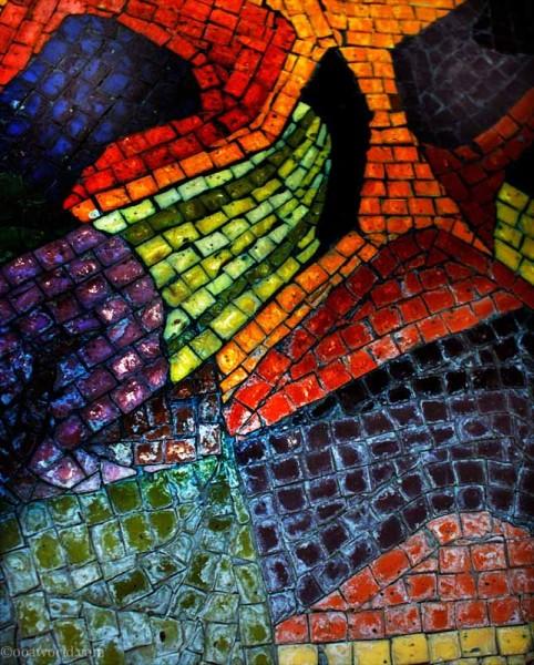 mosaic kansas city square USA road trip photo ooaworld